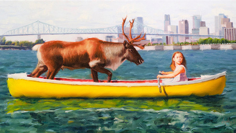 Exquisite oil paintings reflect on climate change consequences | GarryRogers NatCon News | Scoop.it