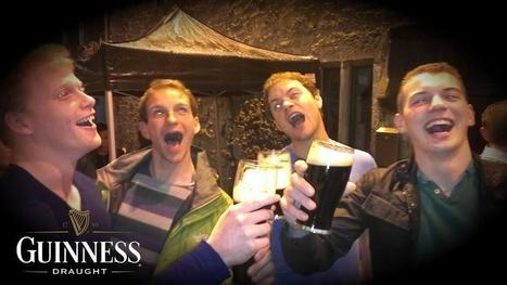 Twitter / 4CanCarebear: Latest #Guinness adverts shot ... | Busker Brownes | Scoop.it
