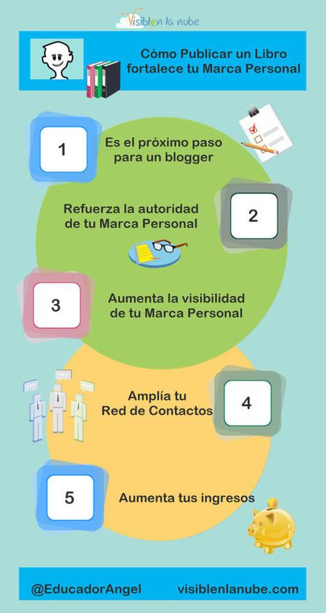 Cómo publicar un libro puede fortalecer tu Marca Personal | Monetizar tu Blog | Scoop.it