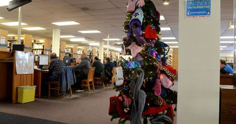 Library Mitten Trees warming community for 15th year | LibraryLinks LiensBiblio | Scoop.it