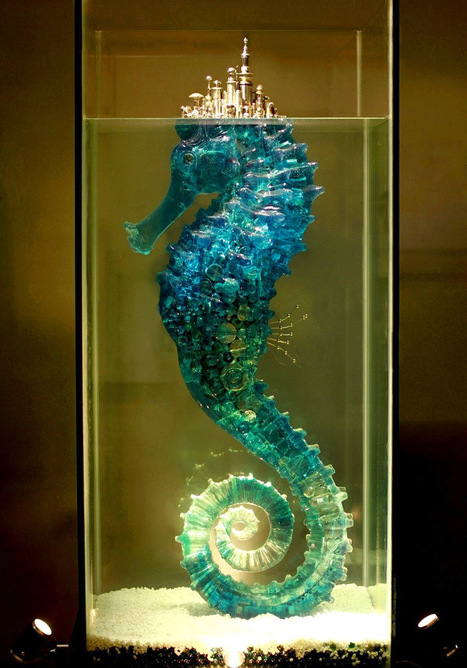 Hu Shaoming's #Mechanical #Sculptures of #Time and #Civilization. #art #foundobjects | Luby Art | Scoop.it