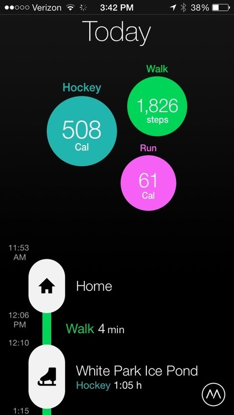 Name your activity with updated Moves for iOS - CNET | Macwidgets..some mac news clips | Scoop.it