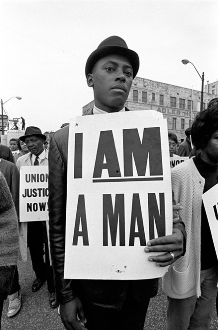 """I Am A Man"" Sanitation Strike 