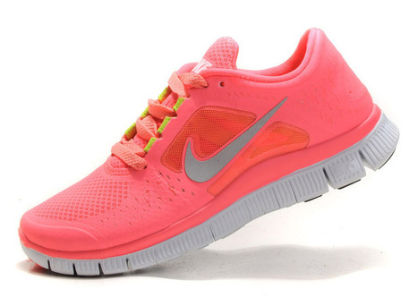Nike Free Run+ 3 Womens Running Shoes Pink Silver | Nike Running Shoes | Scoop.it