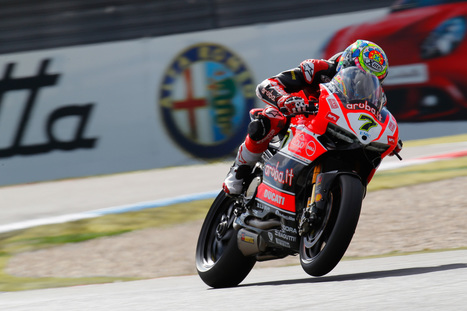 WSBK - Davies tops Day 1 timesheets after blistering final lap | Ductalk Ducati News | Scoop.it
