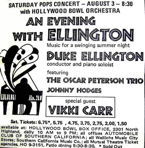 Duke Ellington – Jazz At The Bowl 1968 – Past Daily Downbeat –...   Jazz Plus   Scoop.it