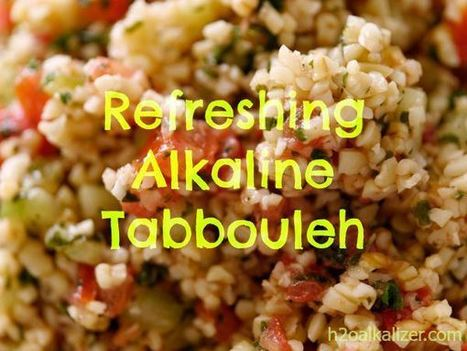 Tabbouleh Recipe for Summer Cookouts | The Basic Life | Scoop.it