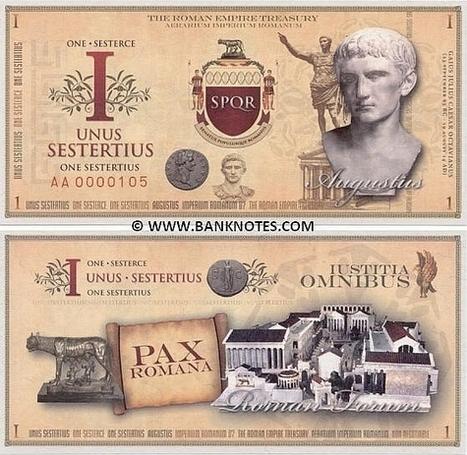 ¿Cómo se rescató a los bancos en la crisis del siglo I en la antigua Roma? - Historias de la Historia | Mundo Clásico | Scoop.it