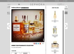 Sephora launches social shopping platform to share, tag beauty looks | wearable and moving marketing | Scoop.it