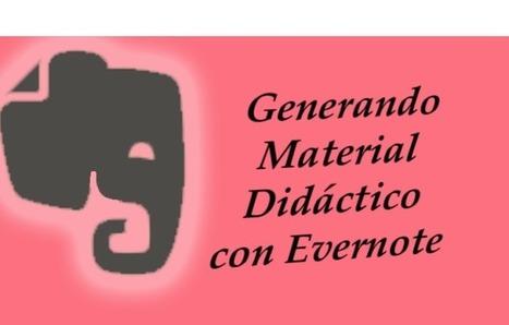 Evernote tu creador de material didáctico | Las TIC en el aula de ELE | Scoop.it