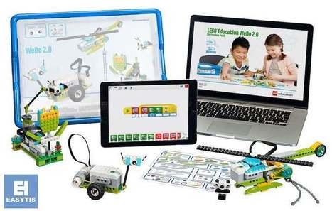 EASYTIS vous invite à découvrir la gamme de solutions LEGO Education | Education numérique | Scoop.it