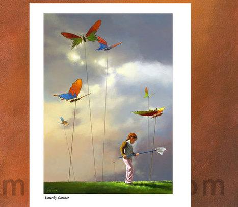 Butterfly Catcher | Art forms | Scoop.it