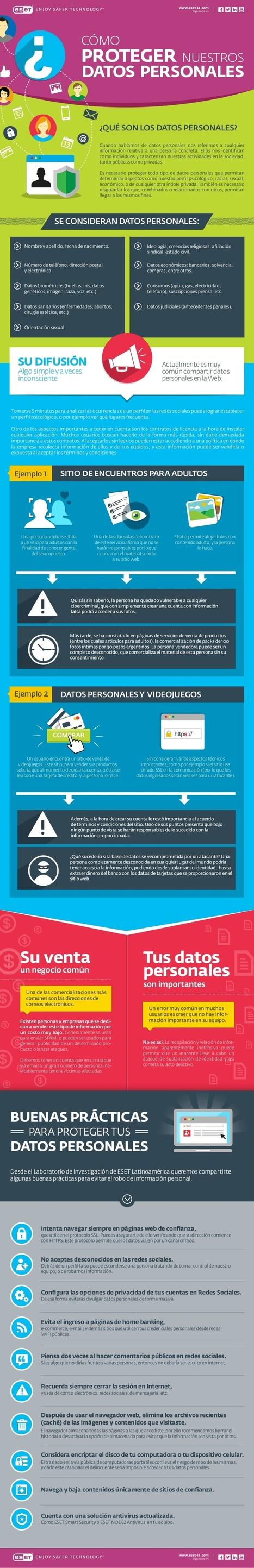 Cómo proteger nuestros datos personales | Gobierno y Gestión de TI | Scoop.it