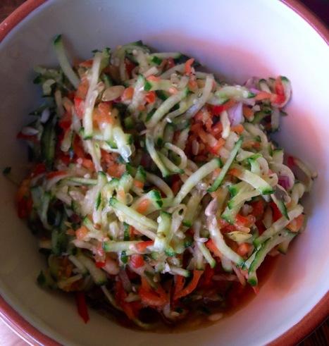 Recipe: Spicy Aloe Beauty Salad (Raw Vegan Paleo Gluten Free) » Kristen's Raw | My Vegan recipes | Scoop.it