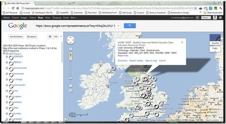 OER Visualisation Project: Maps, Maps, Maps, Maps [day 20] – MASHe | The 21st Century | Scoop.it
