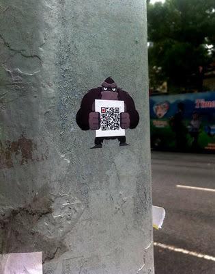 Gorilla marketing with QR Codes! | QRdressCode | Scoop.it