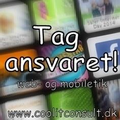 Tag ansvaret! | Cool it | Ipad | Scoop.it