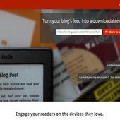 Ebook Glue Transforms Blogs Into Ebooks - Lifehacker   ePub 3.0   Scoop.it