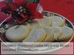 Cinnamon Shortbread Cookie-Mix-in-a-Jar Recipe | Annie Haven | Haven Brand | Scoop.it