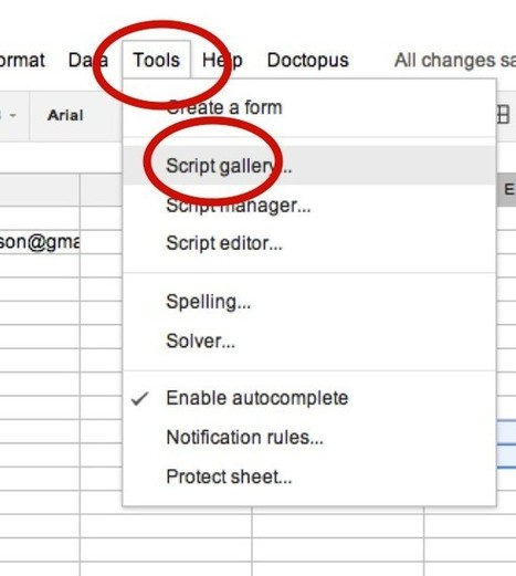 Doctopus + goobric making google apps for education more awesome | Using Google Drive in the classroom | Scoop.it