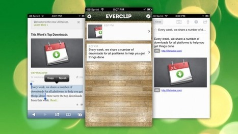 EverClip Automatically Imports Your iOS Clipboard To Evernote | mrpbps iDevices | Scoop.it