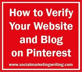 How to Verify Your Website and Blog on Pinterest - Business 2 Community | Digital-News on Scoop.it today | Scoop.it