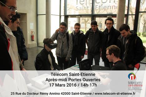Portes ouvertes le 17 Mars après-midi. | Télécom Saint-Etienne | Scoop.it