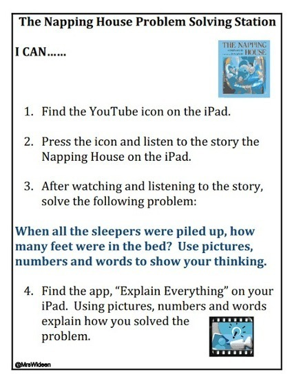6 Ready To Go iPad Centers ~ Mrs. Wideen's Blog... | iPad Lesson Ideas | Scoop.it