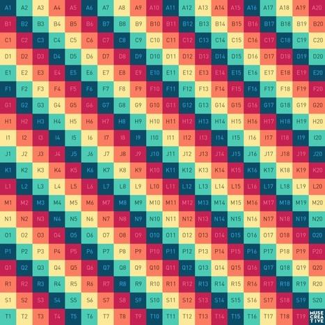 Free Cinema 4D Texture | Muse UV Map 1 | Muse Creative | DAN | Scoop.it