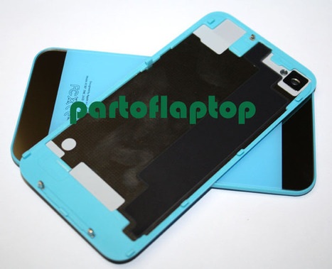 Light Blue iPhone 4S GLASS Battery Door Back Cover w/ iPhone 5 Style+open TOOLS   iPhone 4S Battery Cover With  iPhone 5 Style   Scoop.it