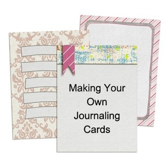 Making Journaling Cards | Journal For You! | Scoop.it