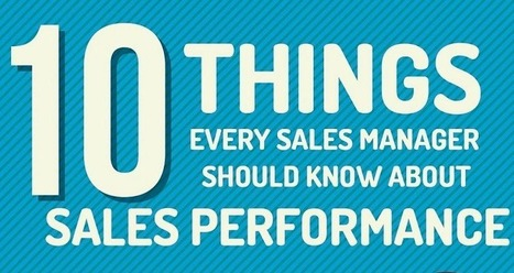 Infographic: 10 Sales Performance Stats To Know - Marketing Technology Blog | PRactical | Scoop.it