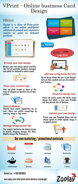 Vistaprint clone script | Online business Card Design | Wanelo clone script | Scoop.it