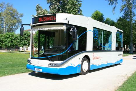 Businova, le bus électrique qui permet de changer l'image des transports en commun | Le groupe EDF | Scoop.it