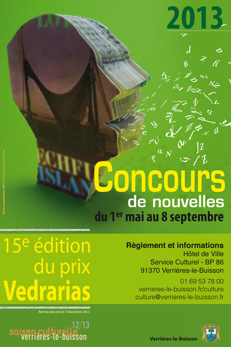 15e prix Vedrarias - 8 septembre 2013 | Lectures ados Saint-Omer | Scoop.it