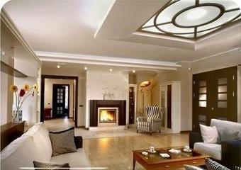 Top 20 Suspended ceiling tiles, lighting pop designs for living room 2015 part 2 | living room design | Scoop.it