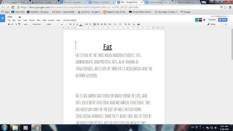 How To Use Google Docs For Collaborative Work. | Lorraine's Geography SKILLS and ICT | Scoop.it