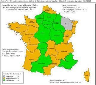 Démographie médicale : les nouvelles données du CNOM au 1er janvier 2013 - Actualités - Vidal.fr   Prospective démographique   Scoop.it