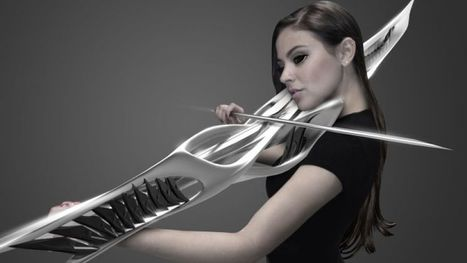 Here's a futuristic 3D-printed violin that could double as a lethal weapon | Xposed | Scoop.it