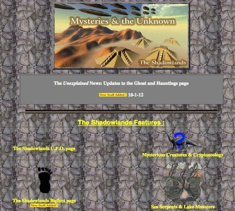 Bad website of the month (July '15): The Shadowlands | Business in a Social Media World | Scoop.it