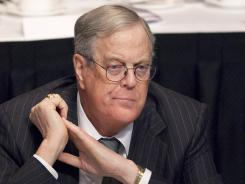 David Koch says he plans to keep funding conservative causes | Stop David Koch Campaign | Scoop.it