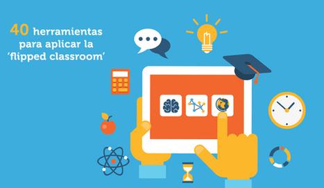 40 herramientas para aplicar la metodología flipped classroom en el aula [Infografía] | EDUDIARI 2.0 DE jluisbloc | Scoop.it