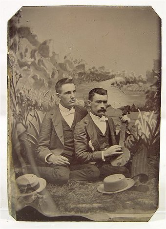 Tintype Male Duo | Antiques & Vintage Collectibles | Scoop.it