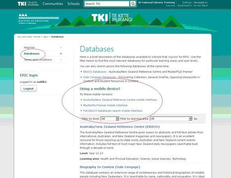 epic / Homepage - Te Kete Ipurangi (TKI) | Creating readers | Scoop.it