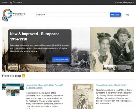 MEDEAnet webinar: Media Resources in the Classroom. Historiana and Europeana, Thursday 20 February, 4-5pm CET | MEDEAnet | Digital and Social Media in Education | Scoop.it