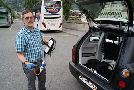 LYonenFrance.com: A Brig, les suisses proposent leur voiture électrique aux touristes | LYFtv - Lyon | Scoop.it