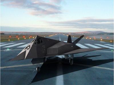 F 117 Nighthawk 3D   3D Library   Scoop.it