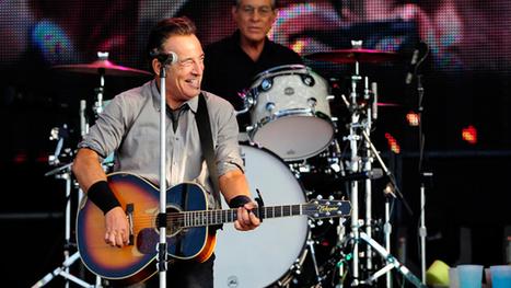 Springsteen shows Belfast who's boss - U TV | Bruce Springsteen | Scoop.it