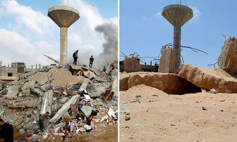 Gaza: how it looks one year after the conflict – then and now | Saif al Islam | Scoop.it