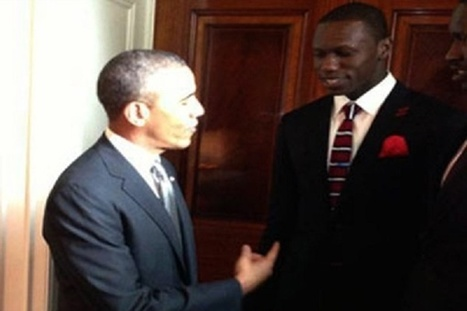 Obama souhaite bonne chance en NBA à Gorgui Sy Dieng | ACTUALITE & SPORT | Scoop.it
